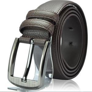 Fashion Designer Luxury Faux Leather Black Brown 117CM Belt Men Brand Male Accessories