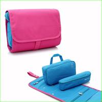 Freeshipping FWB02 Outdoor hanging travel wash cosmetic bag Travel kit waterproof wash bag, male women's toiletries bag