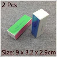 2PCS X 4-WAY Nail Art Polish Gel Buffing Sanding Files Buffer Block Remove Smooth Shine Buffer Tools (NR-WS81)