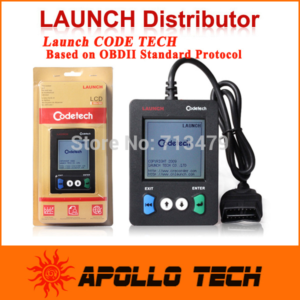 2015 Newest OBD Code Scanner Launch Code Tech Pocket Code Tech Read Clear Repair trouble code Same Function As Launch Creader V+(China (Mainland))