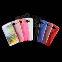 X line Soft TPU Gel Back Cover Case for Samsung GALAXY E7 E700 200pcs