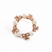 Fashion fashion accessories luxury simulated-pearl women's brooch accessories