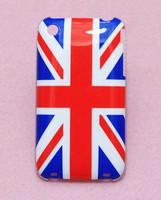 New England English UK British Flag UK Flag Stylish Pattern Hard Back Cover Case Skin For Apple iphone 3G 3GS Free Shipping