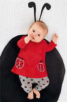 Children suit cotton two-piece 2014 autumn models girls children's clothing in hot new listings