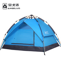 Outdoor four seasons fully-automatic tent 3 - 4 double layer double rainproof camping outdoor tent