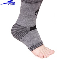 Spring and summer bamboo charcoal ankle support air conditioning thermal cold-proof sports ankle support basketball badminton