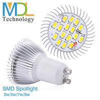 6W LED Spotlight Bulbs High Power LED Bulbs SMD 5730 Chips GU10 GU5.3 E27 E14 Base Lamp 110-240V Hot Sale MDLSPL-3-001