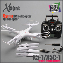 RC Helicopter syma x5c-1 (Upgrade version syma x5c) 6 Axis GYRO Drone Quadcopter with 2MP HD Camera or Syma X5 without camera