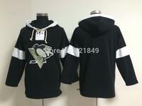 cheap men's Pittsburgh Penguins blank ice hockey jersey/hockey hoodie /hooded sweatshrits size: M-XXXL