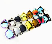 New Fashion Cat Eye Sunglasses For Men Women Personality Color Film Polarized Glasses Shades Retro Women's Sun glasses Oculos