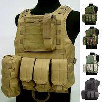 Molle tactical vest ver5 amphibious vest multicolor digital