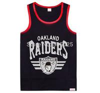 camiseta raiders cotton mens fitness tank top Casual Hip Hop Streetwear regatas gym shark
