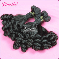 Fumi Hair 3 or 4 pcs/lot 6A Quality Unprocessed Virgin Bouncy Aunty Funmi Curls Hair Weft Romance Spiral Curly Weave Extensions