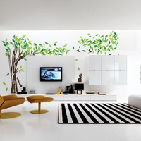 Large Green Tree Vinyl Removable DIY Room Home Decor Wall Stickers Decal P4PM
