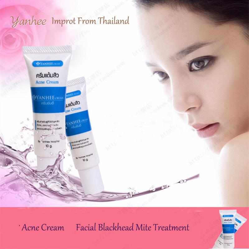 Skin Care Acne Cream Facial Blackhead Mite Treatment &Yanhee Acne cream improt from Thailand&improve facial oil and Large pores(China (Mainland))