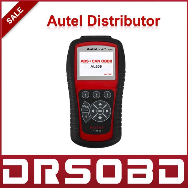 Autel AutoLink AL609 OBDII/EOBD Auto Code Reader Autel Auto-Link AL 609 ABS CAN OBDII Diagnostic Tool(China (Mainland))