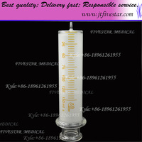 Large Glass Syringe With Glass Luer Slip Tip 150ml.