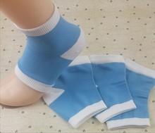 1pair High Quality Gel Heel Socks Moisturing Spa Gel Socks feet care Cracked Foot Dry Hard Skin Protector socks for pedicure