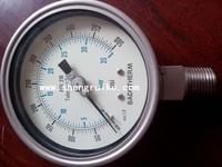 "2.5"" inch 0-60Bar  Pressure Gauge All Stainless Steel GLICERINE filled"