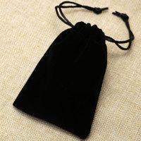 Black Pocket Bag for Pocket Watch Gift Bag WB09