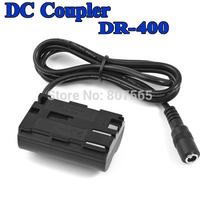 30 pcs DR-400 DR 400 DC Coupler For Canon EOS 5D 10D 20D 30D 40D 50D 350D Adapter ACK-E2 ACKE2