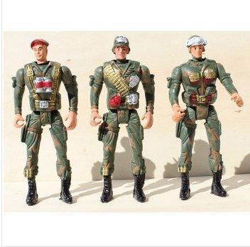 2015 20 peças/lote taille 14 CM cadeau jouets Gi Joe jouets militaire Gi Joe peut soldats mobiles(China (Mainland))
