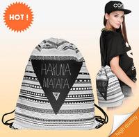 new fashion backpack 3d print travel man woman mochila feminina harajuku drawstring bag unisex backpacks