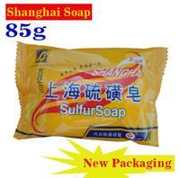 2015 Sabonete Psoriasis 100% Shanghai Sulfur Soap Home Essential Itch Mites Sterilization Containing Ingredients Bathing Toilet