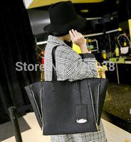 New!hot brand handbags Large High Quality new rivet shoulder bag put dogs in bags Rivet Studded Messenger Bag