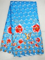 multicolor guipure lace with print,cord lace,fast delivery,5yards/pc, J267-19,turkeyblue