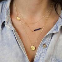Wholesale Fashion Necklaces Bohemian Vintage Hand Long Pendant Necklaces AN433