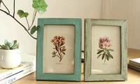Retro frame vintage design art decor photo frame home decoration wall frame picture frame  2pcs/lot
