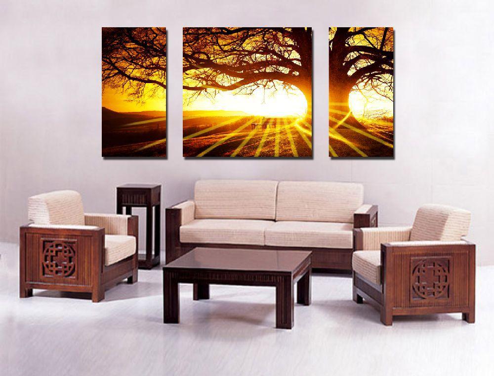wohnzimmerlampen obi:3 Piece Canvas Wall Art Prints