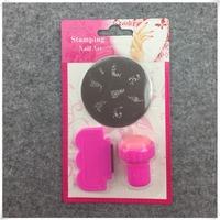 DIY Nail Art Stamping Set Stamping Nail Art Kit Nail Stamps + Scrapers+Image Plate Retails (NR-WS87)