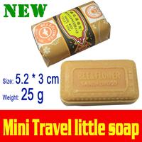 2015 Shanghai Soap Mini Toilet Travel Equipment Sandalwood Strong Taste Incense Moth Anti-odor Lowest Price Bee Flower Card 25g