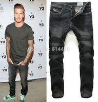 2015 New Style Men's Black Jeans Pants Fashion Denim Jeans Men Brand Designer Jean For Men