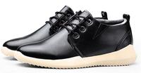 Free shipping plus velvet warm winter padded shoes men's comfort
