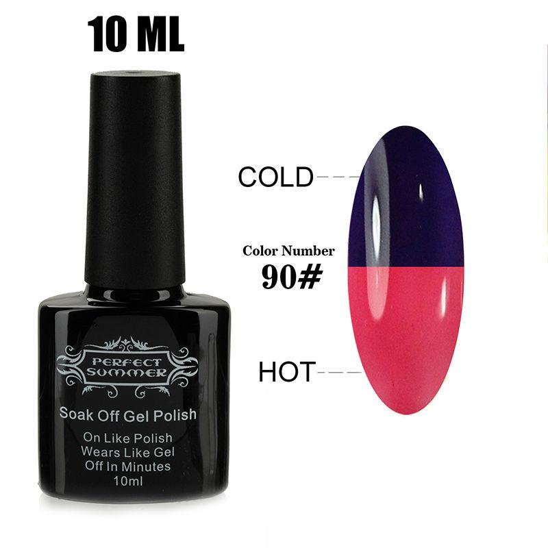 Gel Polish UV Nail Gel Soak-off Gel Long-lasting High Quality Hot Sale Newest Temperature Change Gel Polish Nail Art(China (Mainland))
