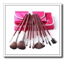 2015 new 7+12 parent makeup brush set support hand to make up kit pinceis profissionais set kabuki professional makeup brush(China (Mainland))
