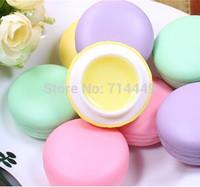 120PCS  Lip Blams Cookie Macaron Lip Gloss 4 color Lipstick Makeup Care Lip Cosmetics Tools Nutritious Protect