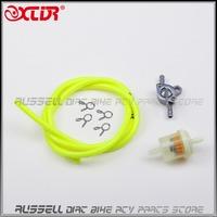 8mm fuel Line hose Rubber Tube & fuel switch Pocket & fuel filter for Dirt Bike/Pit Bike ATV Motorcycle scooter