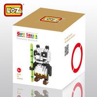 LOZ Kung Fu Panda Panda do Kung Fu OPortugal Paul figure building Blocks Diamond bricks Toy Children gift 5pcs/lot free shipping