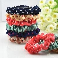 10pcs/set Lots Cute Sweet Girl Elastic Hair Band Ponytail Holder Accessories Headwear Free Shipping 18037