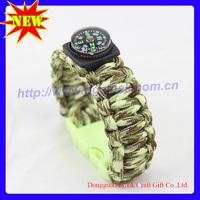 designer bracelets for Emergency paracord survival band