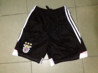 promotion !!!     Best quality     Benfica   black   shorts     US Size    M    Free Shipping
