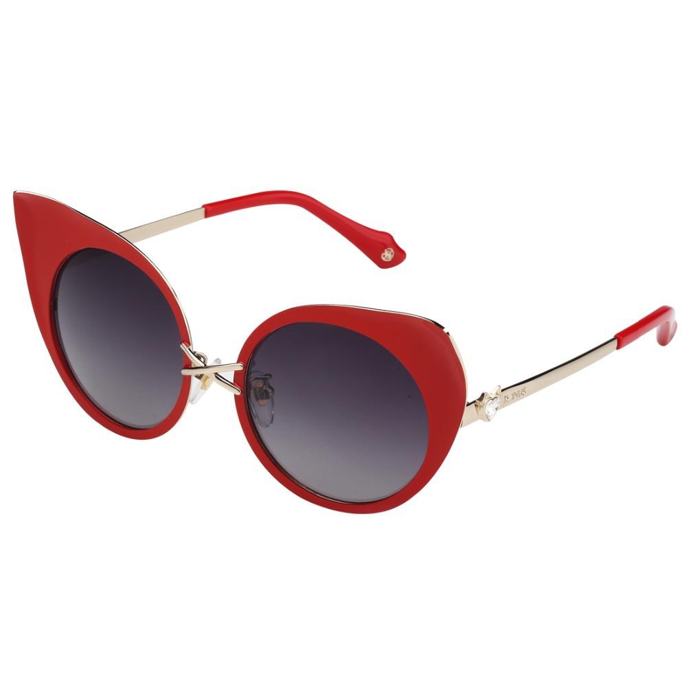 Women's Polarized Sunglasses UV400 Acetate Lens Oversize Frames Aviator Luxury Ladies Opticals Inspired Reflective Revo RS2846(China (Mainland))
