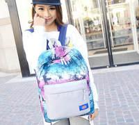 Brand Fashion Design Hit-color Graffiti Backpacks Women Casual Travel Bag Canvas Leisure School Bag Feminina Mochila 760e