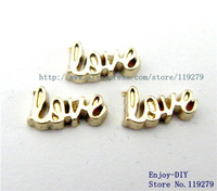 Free shipping Love  Floating charms DIY Accessory Fit for Floating charms Locket FC510