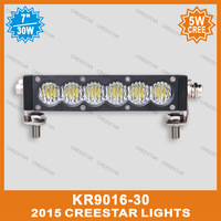 "30W cree led offroad bar KR9016-30 6"" 6inch 5W cree led offroad light bar"