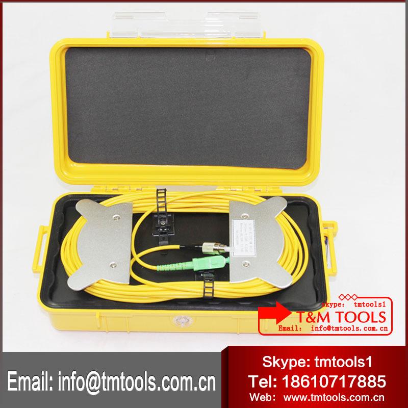 OTDR launch cable box , OTDR Dead Zone Eliminator,Fiber Rings OTDR TM1000 ( 1KM)(China (Mainland))